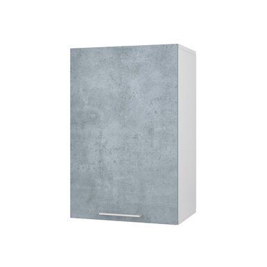 Шкаф однодверный глухой кухня Лофт ширина 450 мм высота 700 мм