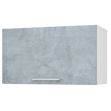 Шкаф горизонтальный глухой кухня Лофт ширина 600 мм высота 350 мм