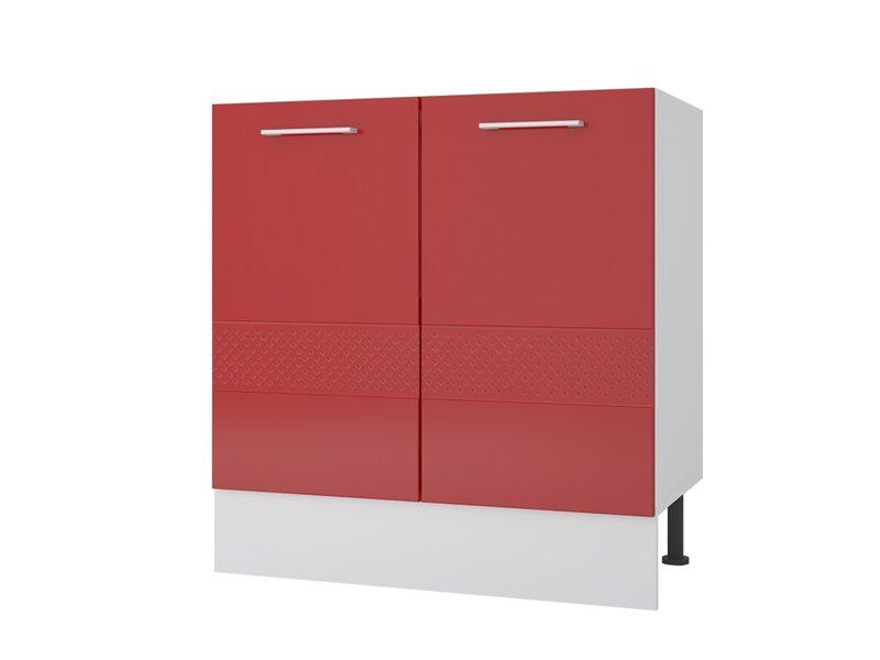 Мойка/Стол двухдверный кухня Люкс ширина 800 мм высота 840 мм