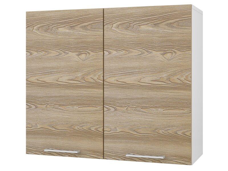 Шкаф двухдверный глухой кухня Полонез ширина 800 мм высота 700 мм