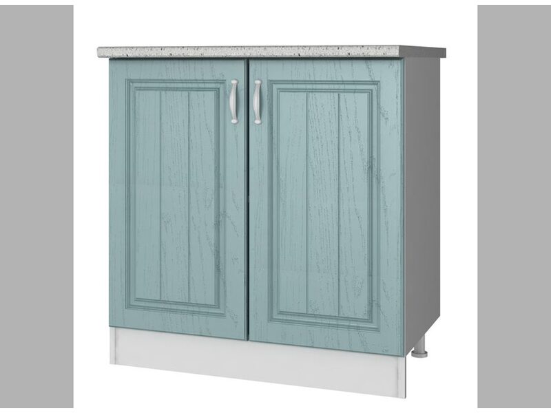 Стол двухдверный кухня Прованс ширина 800 мм высота 850 мм Модуль №27