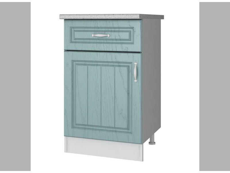 Стол однодверный 1 ящик кухня Прованс ширина 500 мм высота 850 мм Модуль №30