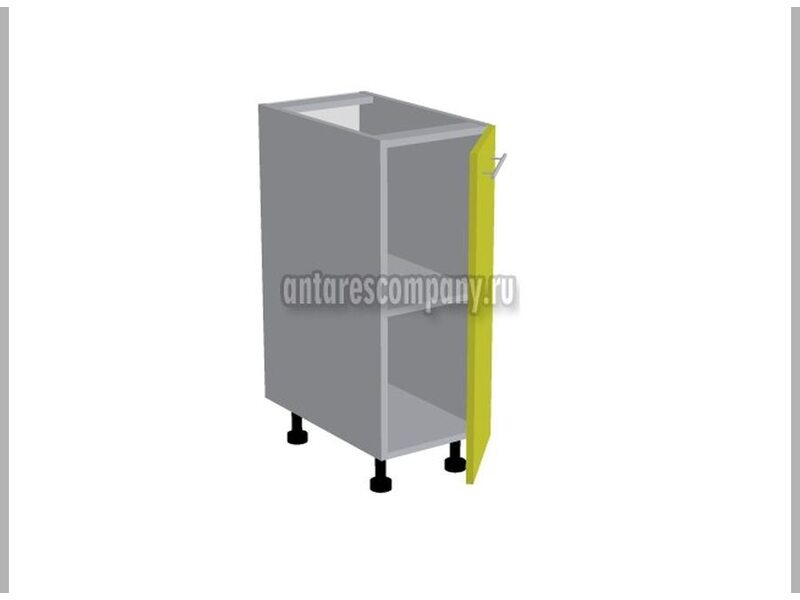 Стол однодверный кухня Базис-Классика ширина 350 мм высота 820 мм Модуль №83