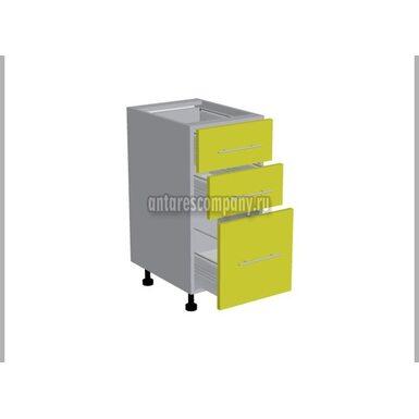 Рабочий стол 300  с 3-мя ящиками (кухня Базис Linecolor)