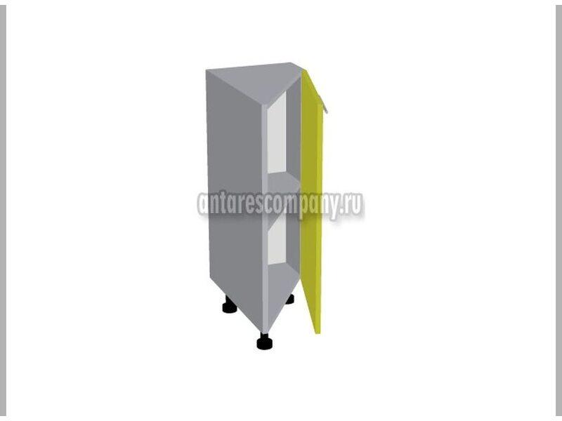 Стол завершающий глухой кухня Базис Эко ширина 315 мм высота 820 мм Модуль №49