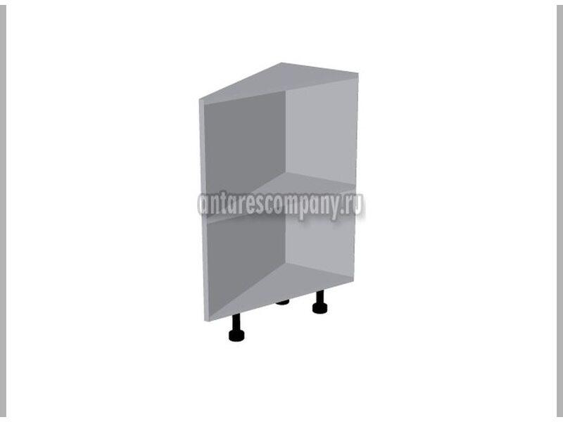 Стол завершающий открытый кухня Базис Nicole ширина 335 мм высота 820 мм Модуль №113