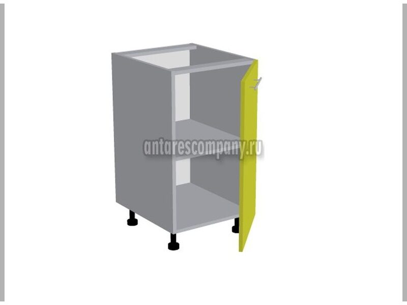 Стол однодверный кухня Базис Linecolor ширина 450 мм высота 820 мм Модуль №85
