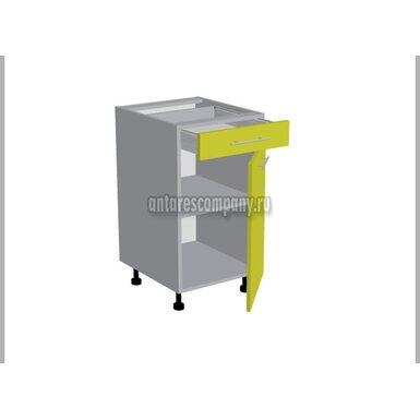 Стол однодверный 1 ящик кухня Базис Миксколор ширина 450 мм высота 820 мм Модуль №93