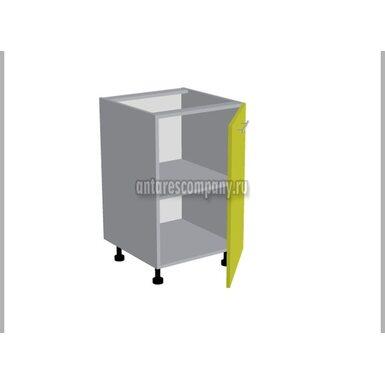 Стол однодверный кухня Базис Миксколор ширина 500 мм высота 820 мм Модуль №86