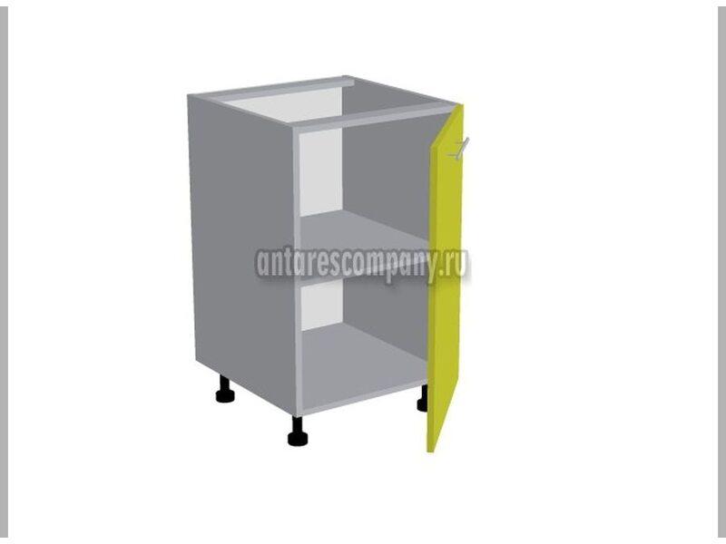 Стол однодверный кухня Базис-Классика ширина 500 мм высота 820 мм Модуль №86