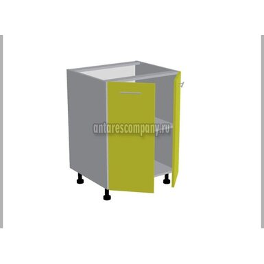 Стол двухдверный кухня Базис Linewood ширина 600 мм высота 820 мм Модуль №88