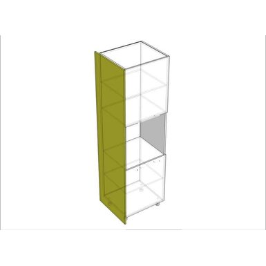 Накладка на пенал 204 кухня Шанталь высота 1320 мм глубина 560 мм