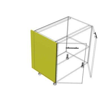 Накладка на бок глубокий кухня Базис Миксколор высота 720 мм глубина 560 мм