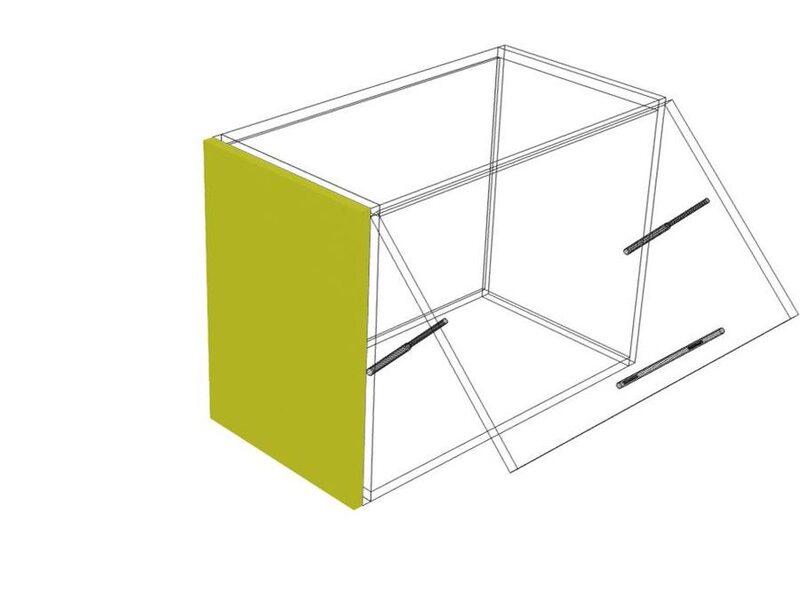 Накладка на бок верх 45 кухня Мишель высота 450 мм глубина 315 мм