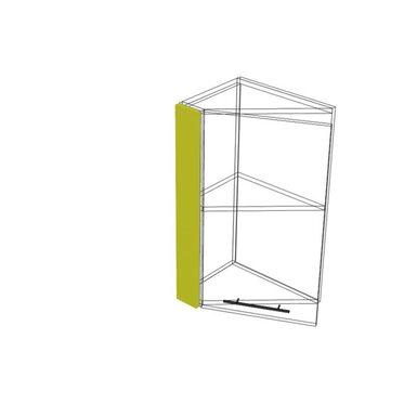 Накладка на скошенный шкаф 72 кухня Базис Миксколор высота 720 мм глубина 91 мм