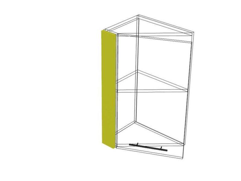 Накладка на скошенный шкаф 72 кухня Мишель высота 720 мм глубина 91 мм
