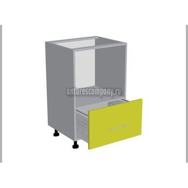 Колонна под духовой шкаф кухня Базис Миксколор ширина 600 мм высота 1060 мм Модуль №130