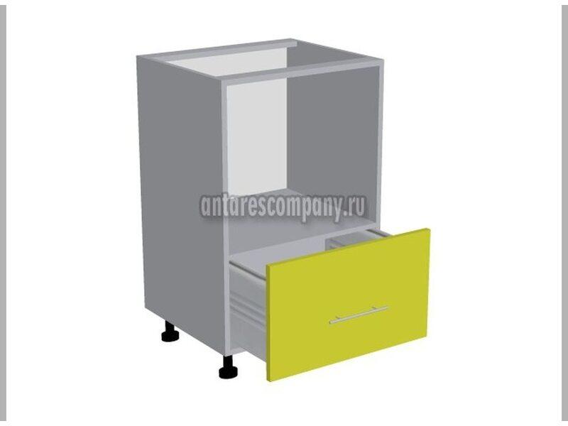 Колонна под духовой шкаф кухня Мишель ширина 600 мм высота 990 мм Модуль №181