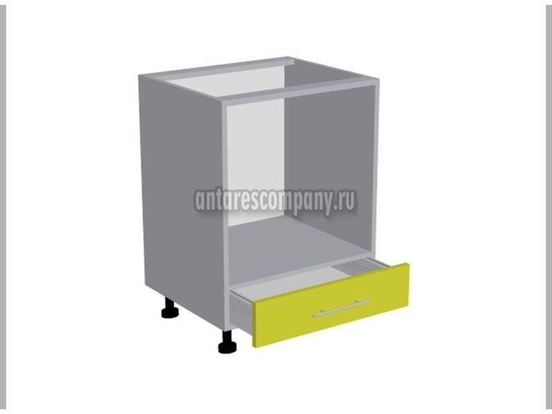 Стол под духовой шкаф кухня Шанталь ширина 600 мм высота 820 мм Модуль №129