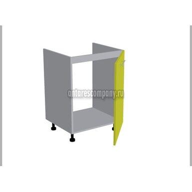 Стол под мойку однодверный кухня Базис Миксколор ширина 600 мм высота 820 мм Модуль №118