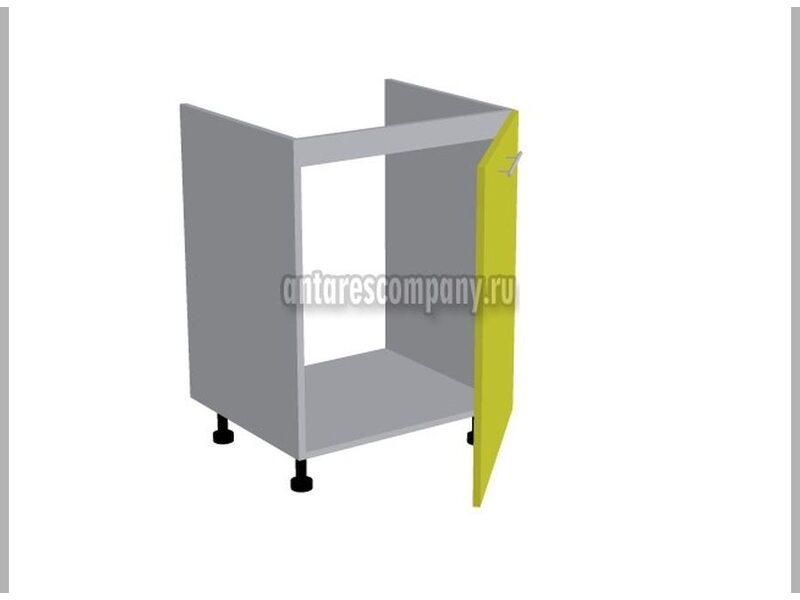 Стол под мойку однодверный кухня Мишель ширина 600 мм высота 820 мм Модуль №118