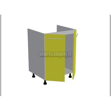 Стол под мойку двухдверный кухня Базис Миксколор ширина 600 мм высота 820 мм Модуль №119