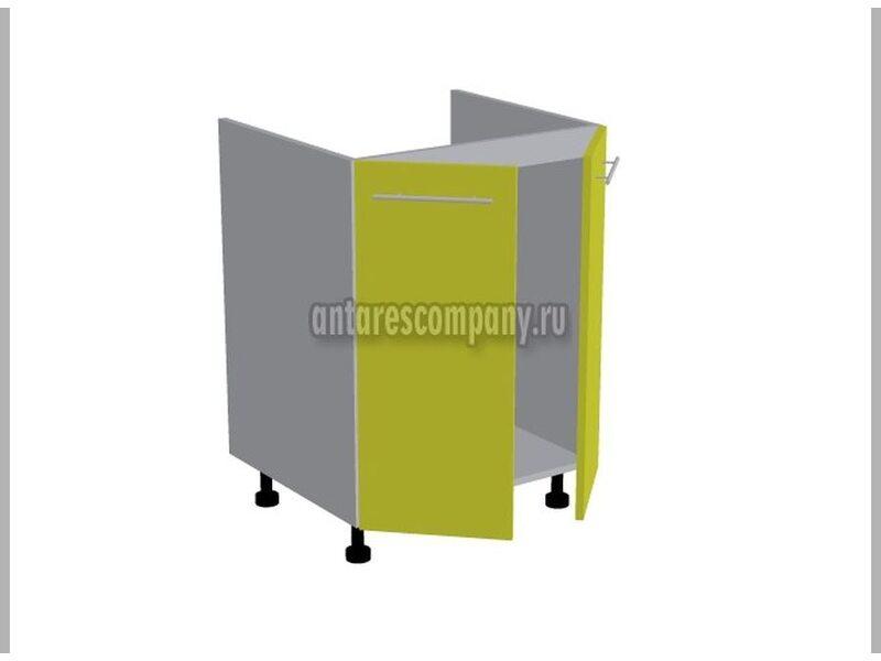 Стол под мойку двухдверный кухня Базис-Классика ширина 600 мм высота 820 мм Модуль №119