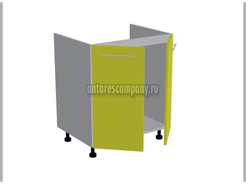 Стол под мойку двухдверный кухня Базис Linewood ширина 700 мм высота 820 мм Модуль №120