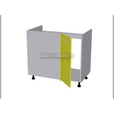 Стол угловой под мойку кухня Базис Linewood ширина 850 мм высота 820 мм Модуль №123