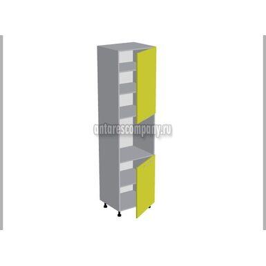 Колонна под духовой шкаф и микроволновку кухня Мишель ширина 600 мм высота 2380 мм Модуль №163