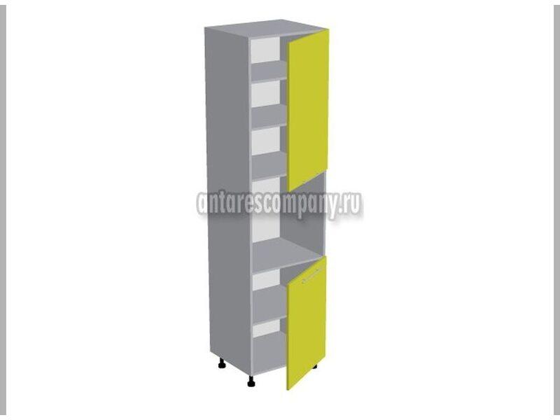 Колонна под духовой шкаф кухня Базис Вудлайн ширина 600 мм высота 2380 мм Модуль №133