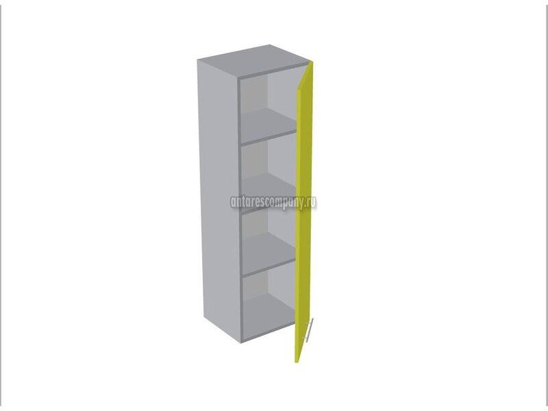 Пенал настольный со стеклом кухня Базис Linewood ширина 600 мм высота 1320 мм Модуль №166