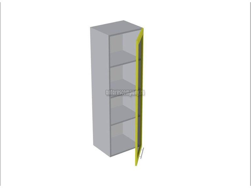 Пенал настольный со стеклом кухня Базис-Классика ширина 450 мм высота 1320 мм Модуль №142