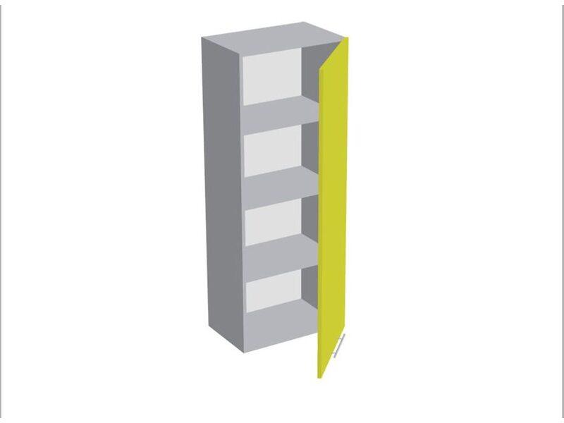 Колонна под духовой шкаф и микроволновку 3 ящика кухня Базис ширина 600 мм высота 2140 мм Модуль №167
