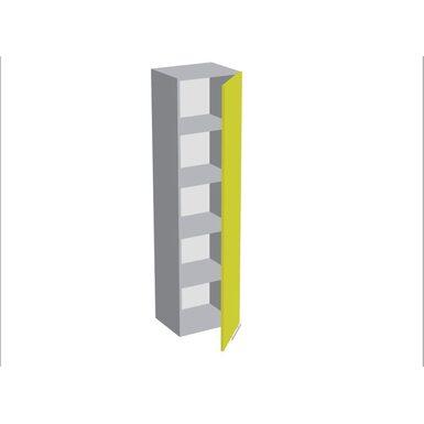 Пенал 400 с 1 дверью (кухня Базис Linecolor)