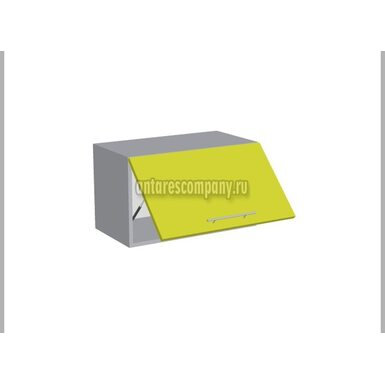 Шкаф горизонтальный глухой кухня Базис Миксколор ширина 600 мм высота 360 мм Модуль №55