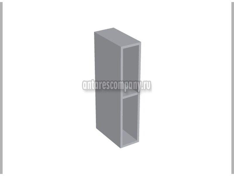 Полка открытая вертикальная кухня Шанталь ширина 150 мм высота 720 мм Модуль №23