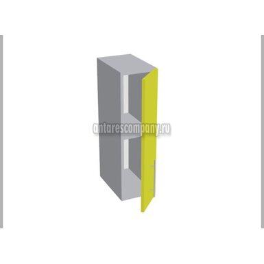 Шкаф однодверный глухой кухня Базис Миксколор ширина 200 мм высота 720 мм Модуль №158