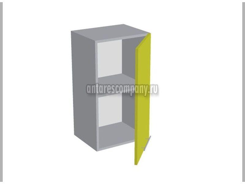 Шкаф однодверный глухой кухня Базис Вудлайн ширина 400 мм высота 720 мм Модуль №3