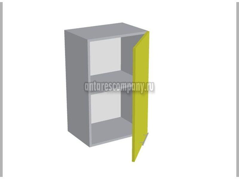 Шкаф однодверный глухой кухня Базис Nicole-Wood ширина 450 мм высота 720 мм Модуль №4