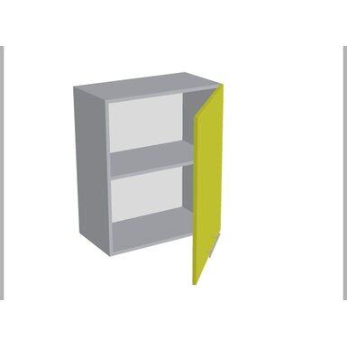 Шкаф однодверный глухой кухня Базис Миксколор ширина 600 мм высота 720 мм Модуль №6