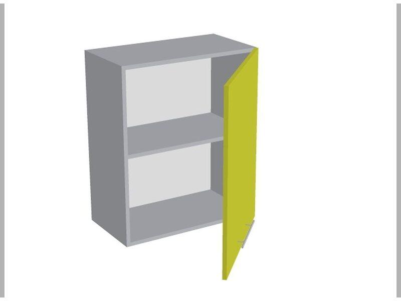 Шкаф однодверный глухой кухня Базис Linewood ширина 600 мм высота 720 мм Модуль №6