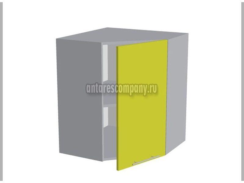 Шкаф угловой глухой кухня Базис Nicole-Wood ширина 600 мм высота 720 мм Модуль №21