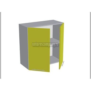 Шкаф двухдверный глухой кухня Базис Миксколор ширина 700 мм высота 720 мм Модуль №14