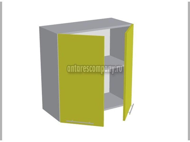 Шкаф двухдверный глухой кухня Базис Вудлайн ширина 700 мм высота 720 мм Модуль №14