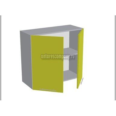 Шкаф двухдверный глухой кухня Базис Миксколор ширина 800 мм высота 720 мм Модуль №15