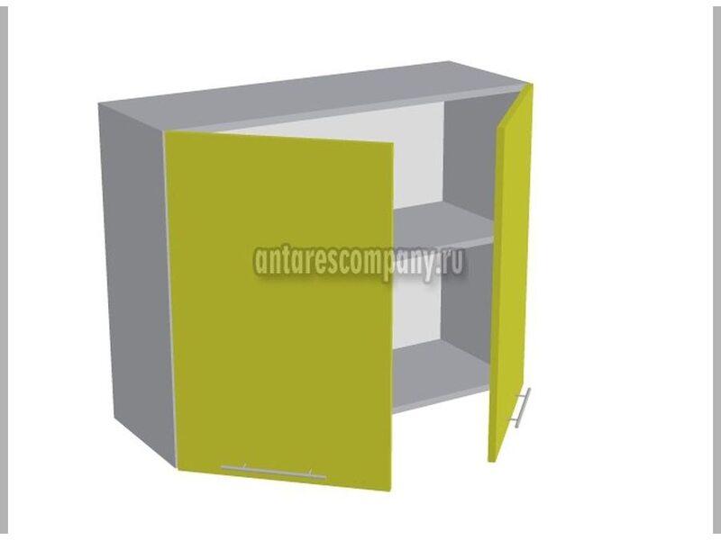 Шкаф двухдверный глухой кухня Базис Вудлайн ширина 900 мм высота 720 мм Модуль №16