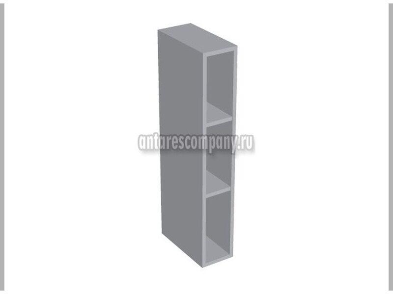 Полка открытая вертикальная кухня Базис Nicole-Wood ширина 150 мм высота 960 мм Модуль №50