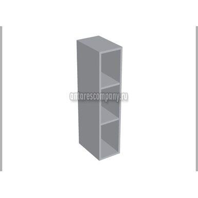 Полка открытая вертикальная кухня Базис Linewood ширина 200 мм высота 960 мм Модуль №51