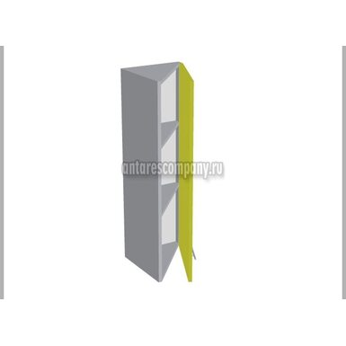 Шкаф завершающий глухой кухня Базис Миксколор ширина 315 мм высота 960 мм Модуль №52